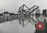 Image of Ship entering the inner harbor canal New Orleans Louisiana USA, 1929, second 38 stock footage video 65675022220
