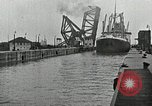 Image of Ship entering the inner harbor canal New Orleans Louisiana USA, 1929, second 41 stock footage video 65675022220