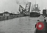 Image of Ship entering the inner harbor canal New Orleans Louisiana USA, 1929, second 42 stock footage video 65675022220