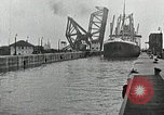 Image of Ship entering the inner harbor canal New Orleans Louisiana USA, 1929, second 43 stock footage video 65675022220