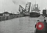 Image of Ship entering the inner harbor canal New Orleans Louisiana USA, 1929, second 44 stock footage video 65675022220
