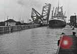Image of Ship entering the inner harbor canal New Orleans Louisiana USA, 1929, second 45 stock footage video 65675022220