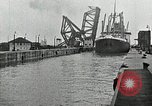 Image of Ship entering the inner harbor canal New Orleans Louisiana USA, 1929, second 46 stock footage video 65675022220