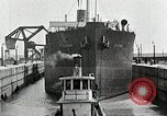 Image of Ship entering the inner harbor canal New Orleans Louisiana USA, 1929, second 47 stock footage video 65675022220