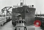 Image of Ship entering the inner harbor canal New Orleans Louisiana USA, 1929, second 48 stock footage video 65675022220
