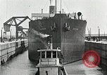 Image of Ship entering the inner harbor canal New Orleans Louisiana USA, 1929, second 49 stock footage video 65675022220