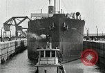 Image of Ship entering the inner harbor canal New Orleans Louisiana USA, 1929, second 50 stock footage video 65675022220