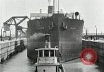 Image of Ship entering the inner harbor canal New Orleans Louisiana USA, 1929, second 51 stock footage video 65675022220