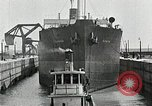 Image of Ship entering the inner harbor canal New Orleans Louisiana USA, 1929, second 52 stock footage video 65675022220