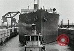 Image of Ship entering the inner harbor canal New Orleans Louisiana USA, 1929, second 53 stock footage video 65675022220