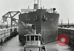 Image of Ship entering the inner harbor canal New Orleans Louisiana USA, 1929, second 54 stock footage video 65675022220