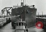 Image of Ship entering the inner harbor canal New Orleans Louisiana USA, 1929, second 55 stock footage video 65675022220