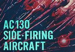 Image of AC-130 side firing aircraft Vietnam, 1969, second 13 stock footage video 65675022225
