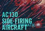 Image of AC-130 side firing aircraft Vietnam, 1969, second 15 stock footage video 65675022225
