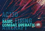 Image of AC-130 side firing aircraft Vietnam, 1969, second 16 stock footage video 65675022225