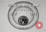 Image of Rifle squad in attack United States USA, 1965, second 7 stock footage video 65675022233