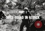 Image of Rifle squad in attack United States USA, 1965, second 45 stock footage video 65675022233