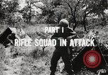 Image of Rifle squad in attack United States USA, 1965, second 46 stock footage video 65675022233