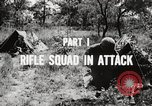 Image of Rifle squad in attack United States USA, 1965, second 47 stock footage video 65675022233