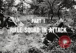 Image of Rifle squad in attack United States USA, 1965, second 48 stock footage video 65675022233