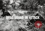 Image of Rifle squad in attack United States USA, 1965, second 49 stock footage video 65675022233