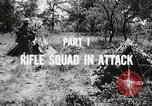 Image of Rifle squad in attack United States USA, 1965, second 50 stock footage video 65675022233