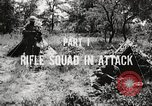 Image of Rifle squad in attack United States USA, 1965, second 51 stock footage video 65675022233