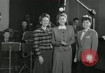 Image of Andrews Sisters United States USA, 1944, second 5 stock footage video 65675022242