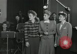 Image of Andrews Sisters United States USA, 1944, second 21 stock footage video 65675022242