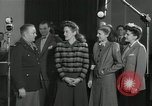 Image of Andrews Sisters United States USA, 1944, second 32 stock footage video 65675022242