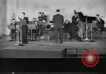 Image of Perry Como and orchestra broadcast song Now New York United States USA, 1943, second 4 stock footage video 65675022249