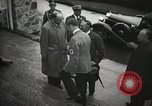 Image of Neville Chamberlain and Chancellor Adolf Hitler Berchtesgaden Germany, 1938, second 23 stock footage video 65675022254