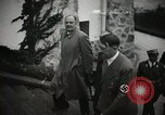 Image of Neville Chamberlain and Chancellor Adolf Hitler Berchtesgaden Germany, 1938, second 26 stock footage video 65675022254