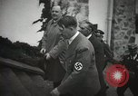 Image of Neville Chamberlain and Chancellor Adolf Hitler Berchtesgaden Germany, 1938, second 27 stock footage video 65675022254