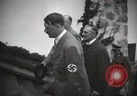 Image of Neville Chamberlain and Chancellor Adolf Hitler Berchtesgaden Germany, 1938, second 28 stock footage video 65675022254