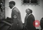 Image of Neville Chamberlain and Chancellor Adolf Hitler Berchtesgaden Germany, 1938, second 30 stock footage video 65675022254