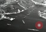 Image of Fleet of Japenese submarines Sasebo Bay Japan, 1946, second 24 stock footage video 65675022263