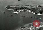 Image of Fleet of Japenese submarines Sasebo Bay Japan, 1946, second 28 stock footage video 65675022263