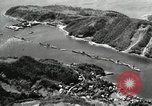 Image of Fleet of Japenese submarines Sasebo Bay Japan, 1946, second 43 stock footage video 65675022263