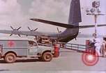 Image of US Aircraft JRM-1 removing casualties and taking off Pearl Harbor Hawaii USA, 1946, second 5 stock footage video 65675022271