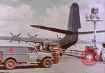 Image of US Aircraft JRM-1 removing casualties and taking off Pearl Harbor Hawaii USA, 1946, second 12 stock footage video 65675022271