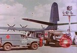 Image of US Aircraft JRM-1 removing casualties and taking off Pearl Harbor Hawaii USA, 1946, second 15 stock footage video 65675022271