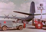 Image of US Aircraft JRM-1 removing casualties and taking off Pearl Harbor Hawaii USA, 1946, second 16 stock footage video 65675022271