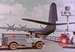 Image of US Aircraft JRM-1 removing casualties and taking off Pearl Harbor Hawaii USA, 1946, second 17 stock footage video 65675022271