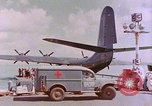 Image of US Aircraft JRM-1 removing casualties and taking off Pearl Harbor Hawaii USA, 1946, second 18 stock footage video 65675022271