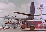 Image of US Aircraft JRM-1 removing casualties and taking off Pearl Harbor Hawaii USA, 1946, second 19 stock footage video 65675022271