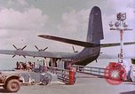 Image of US Aircraft JRM-1 removing casualties and taking off Pearl Harbor Hawaii USA, 1946, second 21 stock footage video 65675022271