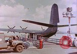 Image of US Aircraft JRM-1 removing casualties and taking off Pearl Harbor Hawaii USA, 1946, second 22 stock footage video 65675022271