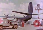 Image of US Aircraft JRM-1 removing casualties and taking off Pearl Harbor Hawaii USA, 1946, second 23 stock footage video 65675022271