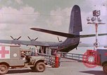 Image of US Aircraft JRM-1 removing casualties and taking off Pearl Harbor Hawaii USA, 1946, second 24 stock footage video 65675022271